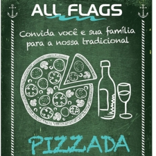 Tradicional Pizzada da All Flags
