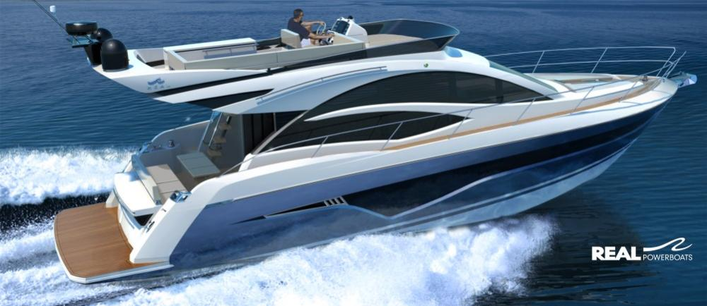 Real Powerboats 520 Fly