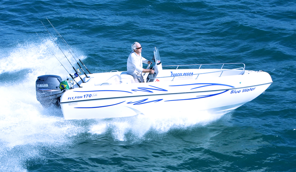 Brasboats Fly Fish 170
