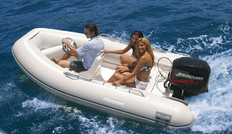 Flexboat SR 12 Super Luxo - SLX