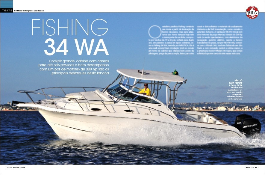 Fishing 34 WA