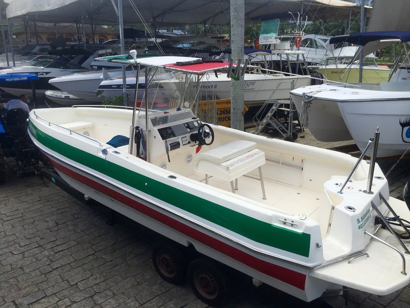Real Powerboats Pro Fish 250