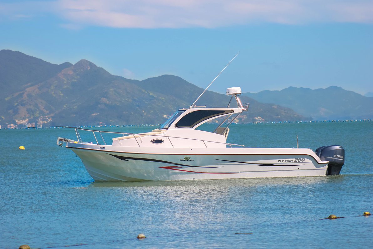 Brasboats Fly Fish 280