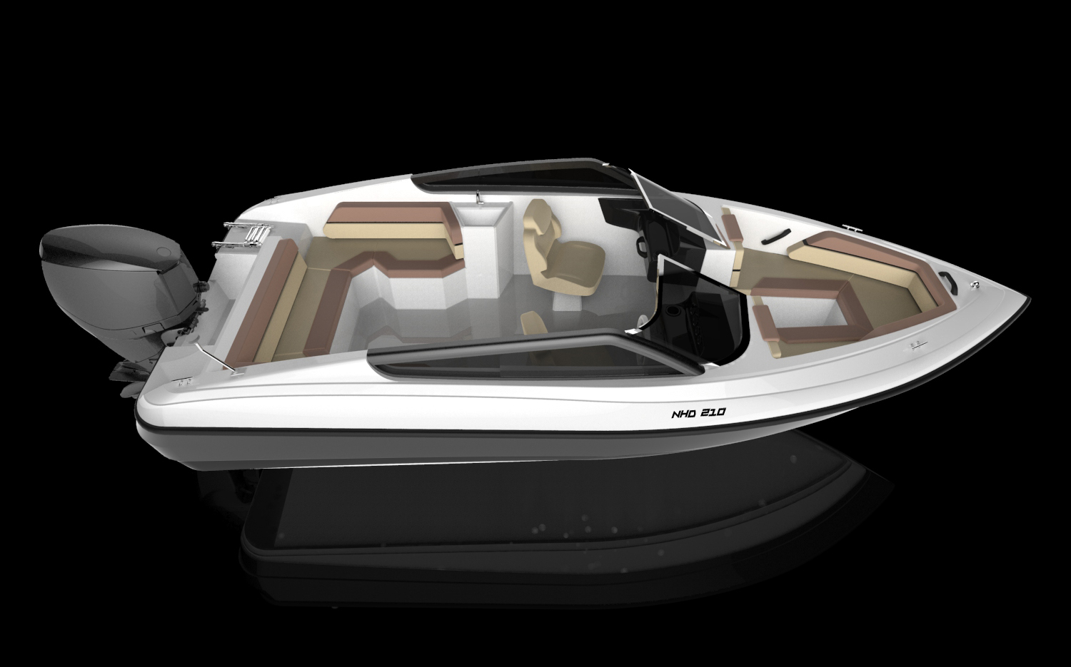 New HD Boats NHD 210