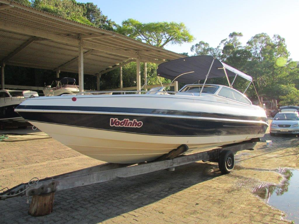 Real Powerboats Class 24 Popa