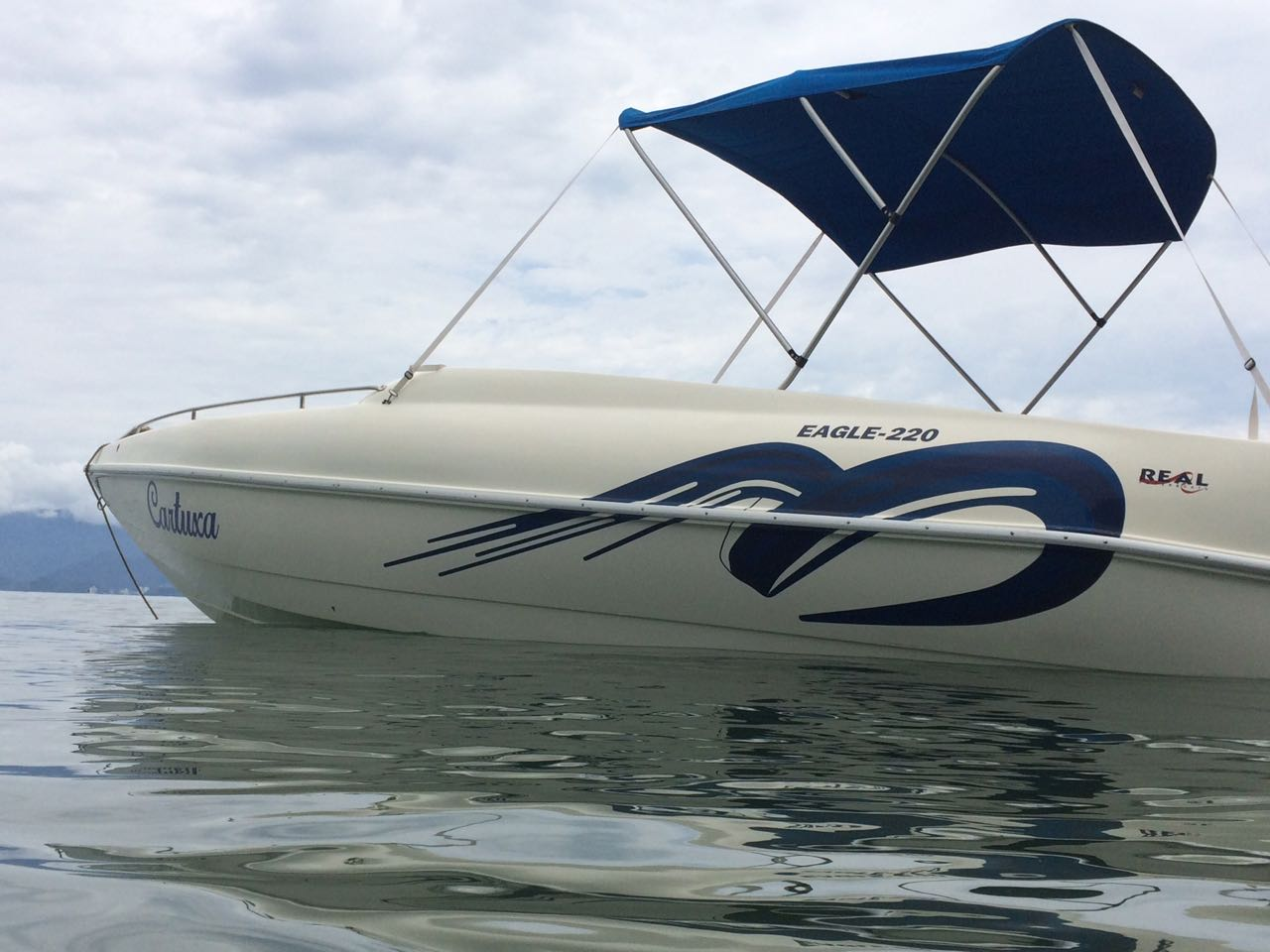 Real Powerboats Eagle 220