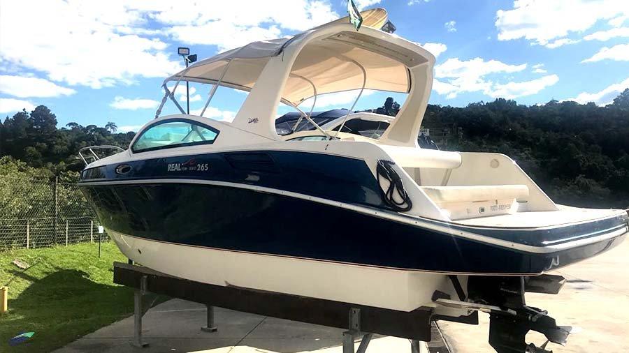 Real Powerboats Real 265