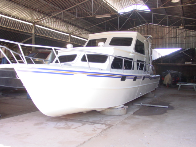 Malloy 40 flybridge
