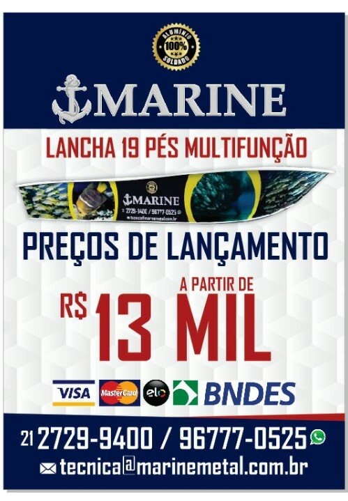 Fabricação Própria Marine 570