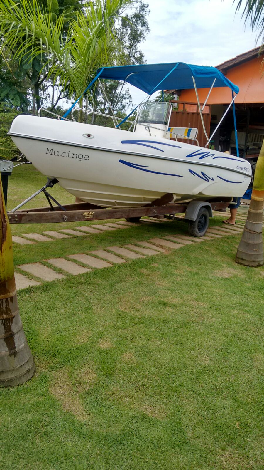 Brasboats Fly Fish 170