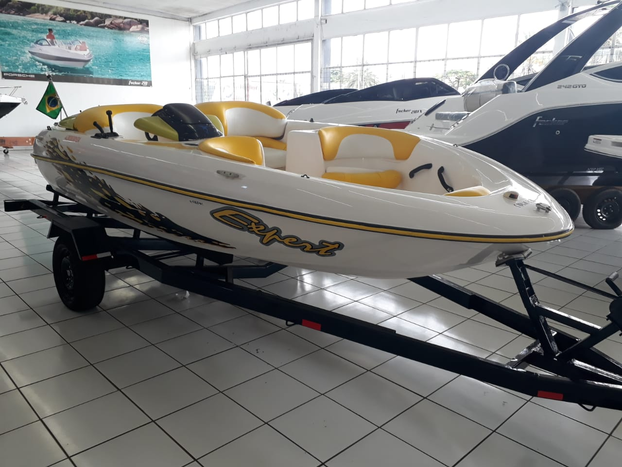Colunna Yachts Jet Boat XR2-S Especial Edition