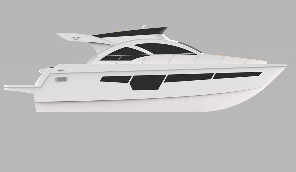 Top Line Yachts430 Fly