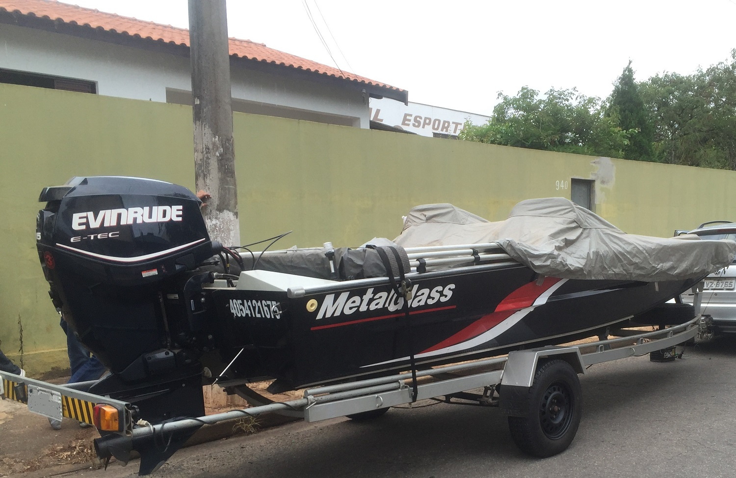 Metalglass Grand Fish 6000 Flex