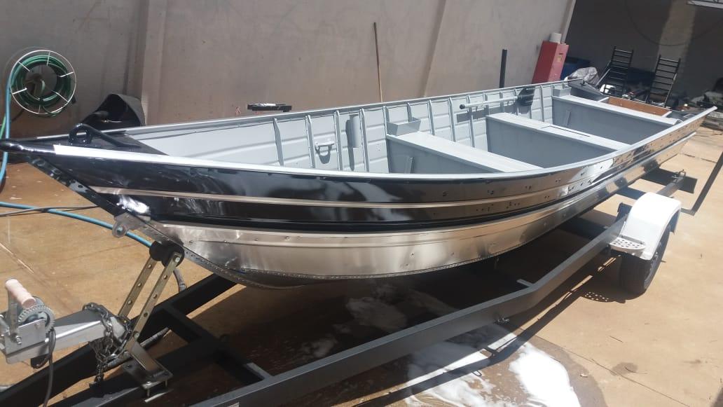 Barcos Beira Rio Tibagi 600