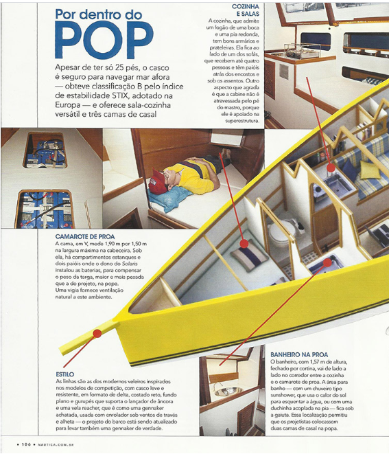 Yachdesign - Roberto Barros - Cabinho POP 25