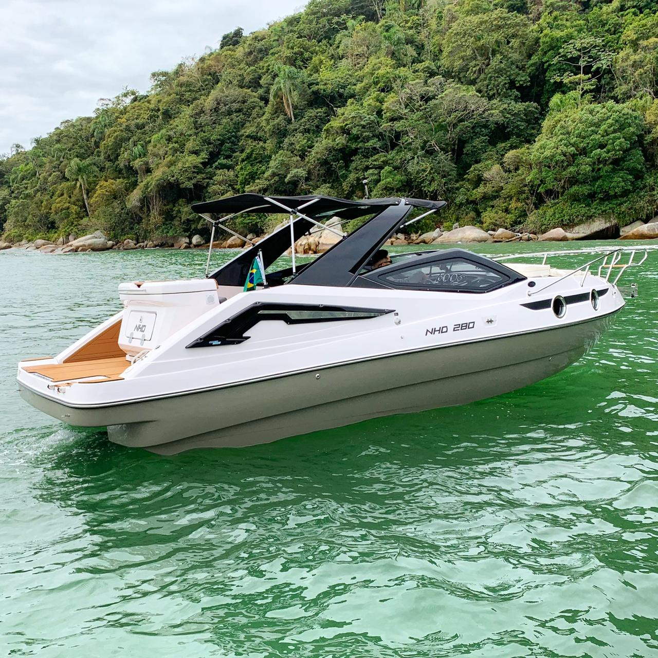 New HD Boats NHD 280 COTA COMPARTILHADA