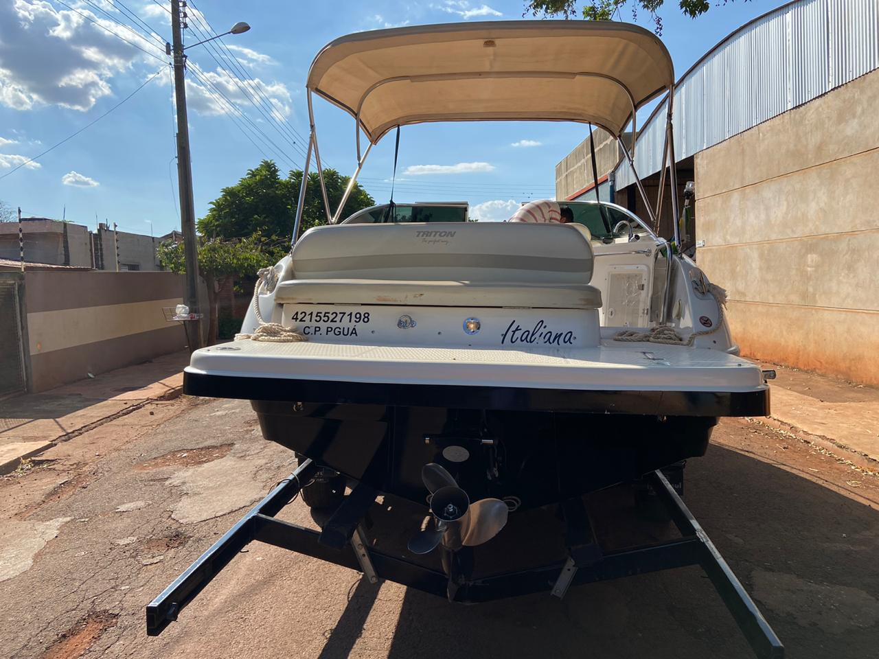 Triton Yachts 230 CAB