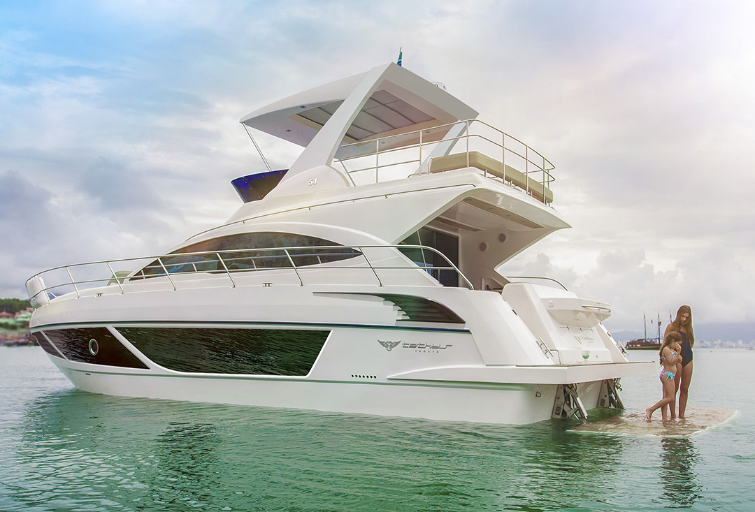 Tethys Yachts 54 fly