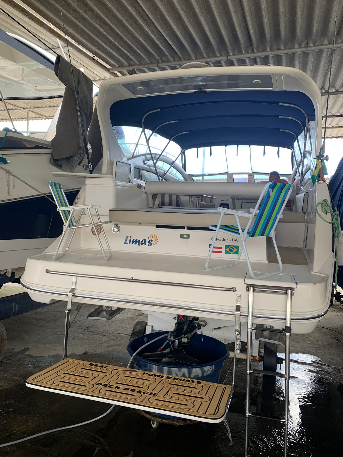 Real Powerboats 315